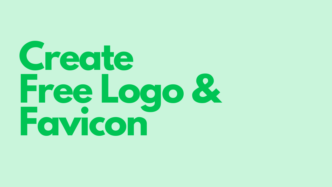 Create a Logo Green 1