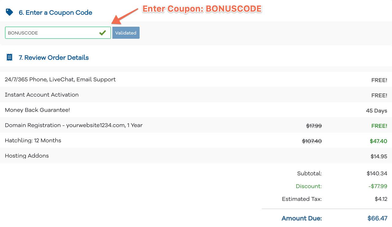 hostgator-bonuscode