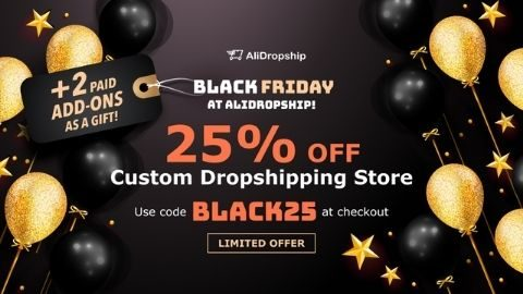 Get a 25% Off a Custom store!